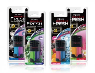 Double Fresh™ Vent Mount Car Perfume