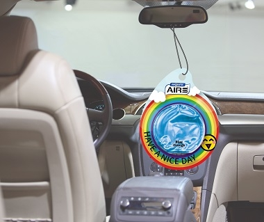 Have A Nice Day Car Fragrance Hanging