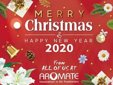 Season's Greetings From AROMATE 2019