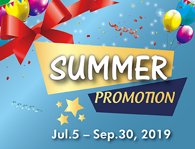 [BIG $$$ Saving] Summer Promotion ????