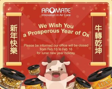 2021 Chinese New Year Break Notice