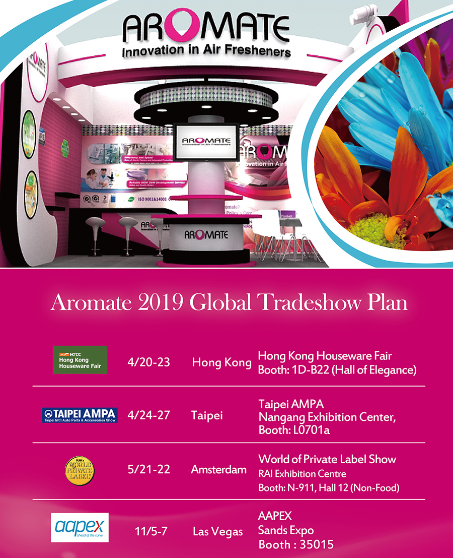 2019 Global Tradeshows