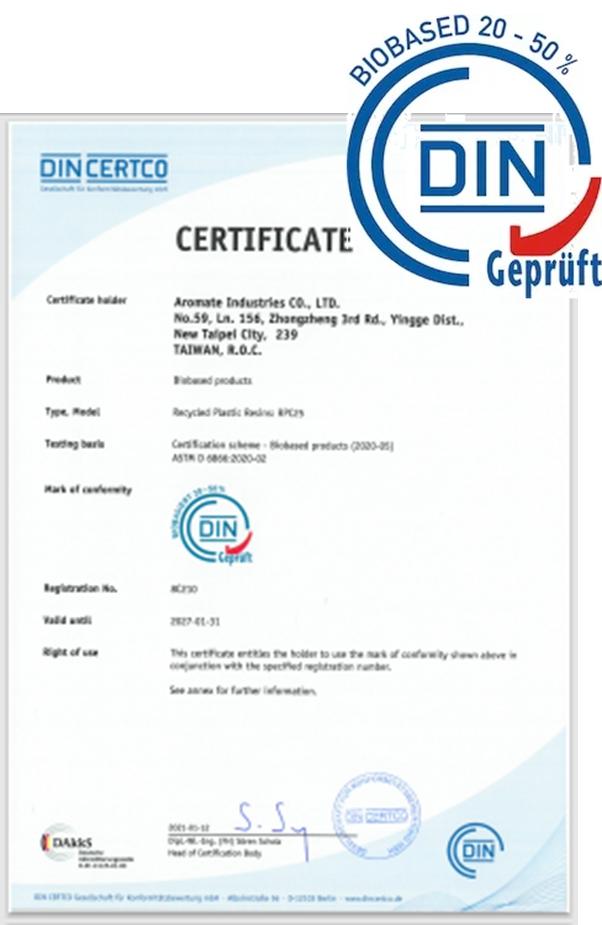 DIN CERTO certified