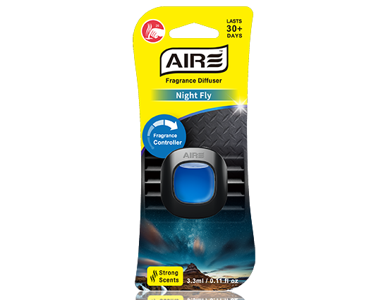 Night Fly Car Air Freshener Vent Clip