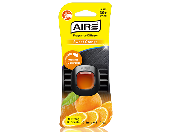 Sweet Orange Car Air Freshener Vent Clip