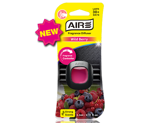 Wild Berry Car Air Freshener Vent Clip