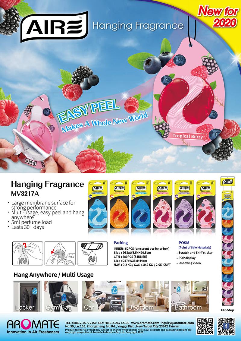 Easy Peel Hanging Fragrance